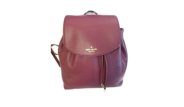 e8abe3d7dc32 ... 50% off amazon kate spade mulberry street small breezy backpack  shoulder bag mulled wine 582