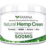 Natural Hemp Extract Pain Relief Cream - 500 Mg - Hemp Salve Contains