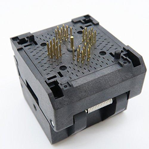 ALLSOCKET QFN32(5x5)-0.5 Testing Socket, QFN32 MLF32 WLCSP32 Package Burn-in Socket, 0.5mm Pitch IC 5x5mm IC550-0324-007-G QFN IC MCU Programming Socket(Clamshell, 0.5mm) by ALLSOCKET (Image #3)