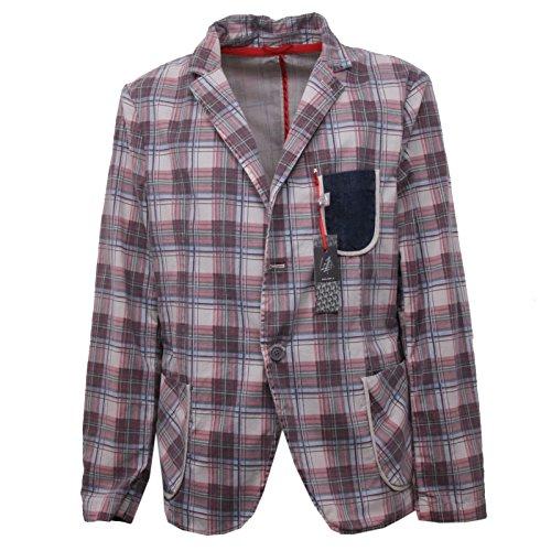 Jacket Giacche Loft 1 Man Giacca 41 Bordeaux Stampa B4332 Uomo beige Scozzese wXpqOvX