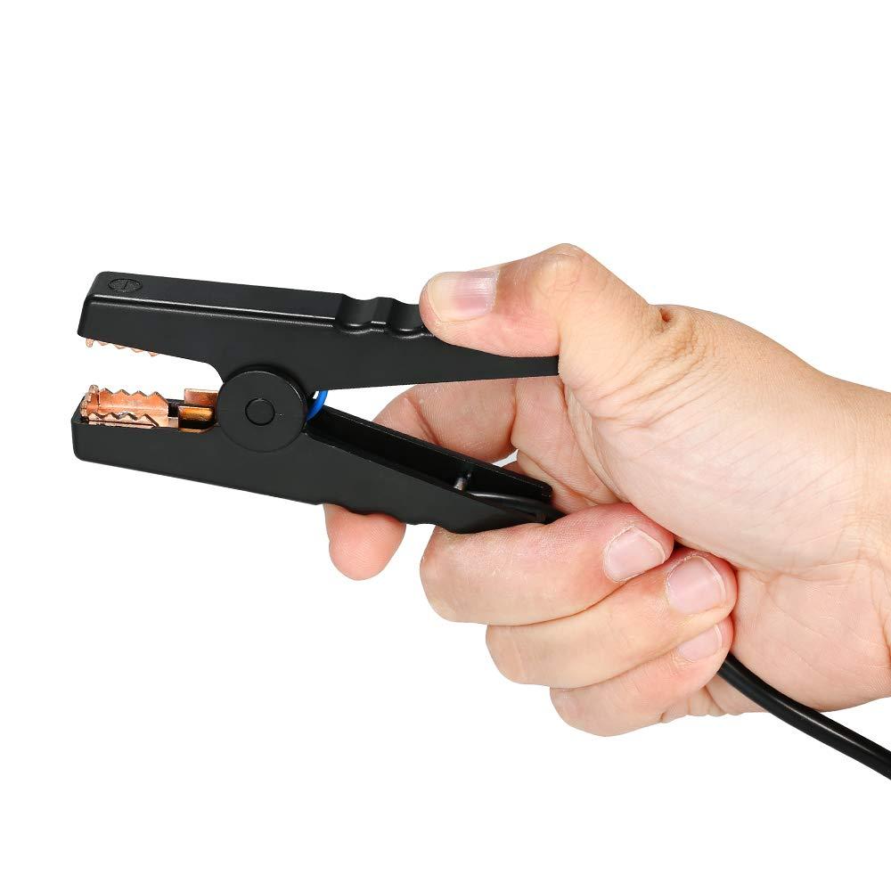 Automotive Batterie Belastungstest Testger/ät Digital Analyzer Batteriezustand Test-Tool Speicherbatterie-Tester 12 V mit AH//CCA-Modus f/ür Auto-Motorrad-Bootsfahrzeug Fesjoy Batterietester