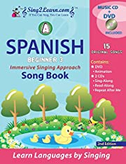 Sing2Learn Beginner III Songbook A - Spanish…