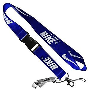 Nike Cell Phone Keychain Lanyard Keys ID MP3 Holder Neck