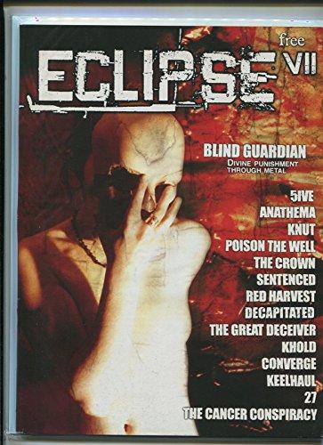 - Eclipse Vll Blind Guardian Anathema Knut The Crown 27 metal fanzine MBX66