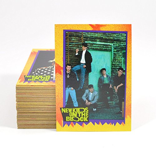 1989-topps-new-kids-on-the-block-complete-trading-card-set-88-cards