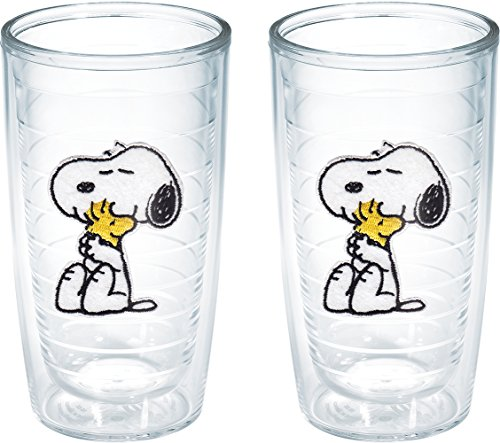 (Tervis Peanuts Snoopy and Woodstock Tumbler, 16-Ounce,)