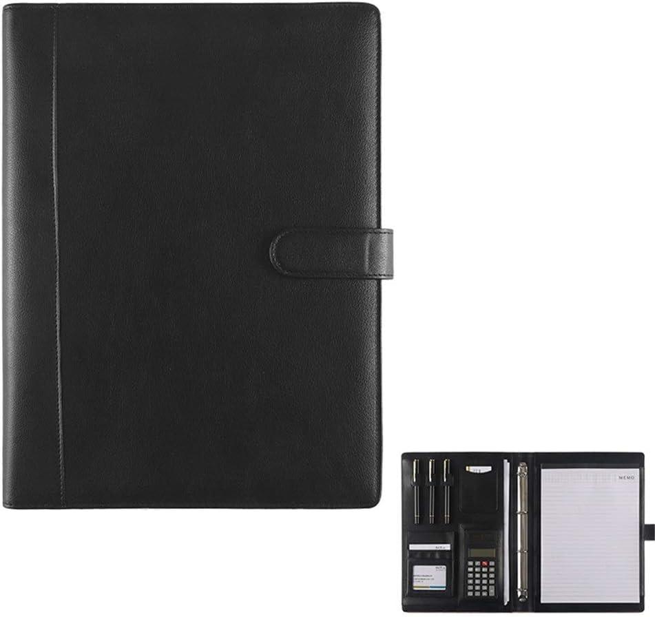 Organizador de Carpetas de Documentos Business Clip De Cuero Durable Hombres De Negocios Multifuncionales Y Mujeres Bolsa De Almacenamiento Profesional para Tableta iPad