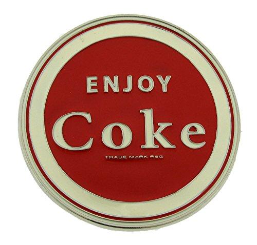 Coke Coca Cola Red White Belt Buckle Mens Womens Fashion Metal New (Belt Buckle Coca Cola)