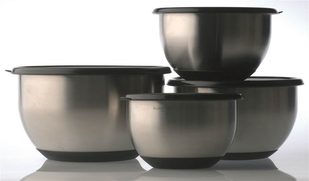 Berghoff 8-Piece Stainless Steel Mixing Bowl Set