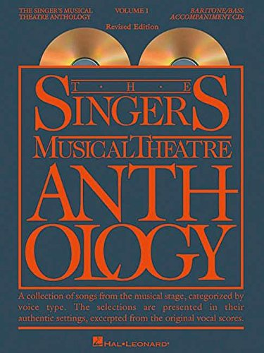 The Singer's Musical Theatre Anthology - Volume 1: Baritone/Bass Accompaniment CDs (Vocal Collection)