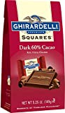 60 dark chocolate - Ghirardelli Dark 60% Cacao Squares Stand Up Bag, 5.25 Ounce