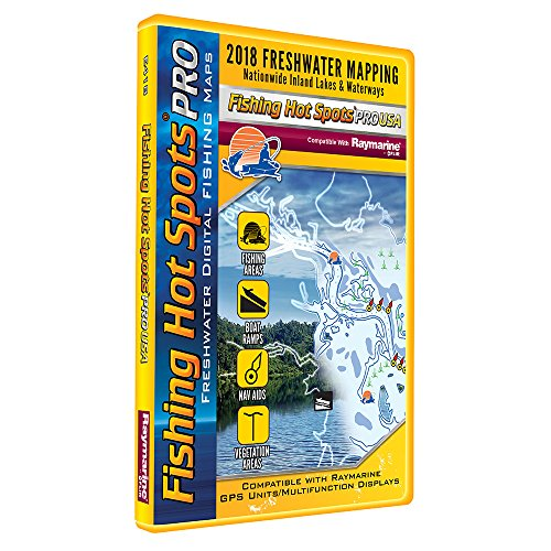 Fishing Hot Spots PRO FW - 2018 Digital Map & Fishing Chip f/Raymarine Units - ()