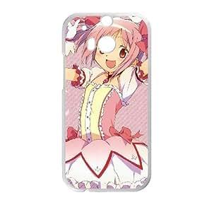 Puella Magi Madoka Magica HTC One M8 Cell Phone Case White