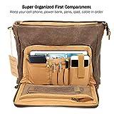 Manificent Laptop Messenger bag for Mens 15.6