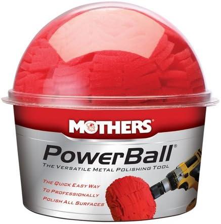 M/ütter Powerball Metallbohrer Polieren Ball * * mit Chrom Edelstahl * * Aluminium etc