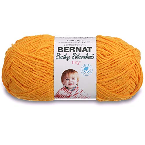 Bernat Baby Blanket Tiny Yarn, 3.5 oz, Gauge 4 Medium, ()