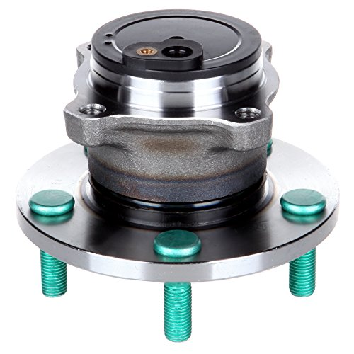 ECCPP NEW REAR Wheel Hub and Bearing Assembly for 2004 2005 2006 2007 2008 2009 2010 2011 2012 2013 Mazda 5 Lugs W/ABS 512347