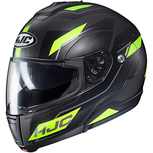 HJC Flow Men's CL-MAX 3 Modular Street Motorcycle Helmet - MC-3HSF / ()
