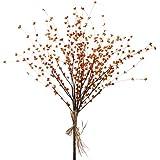 """Raz 28"""" Bittersweet Orange Fall Flower Bundle Spray F3602394"""