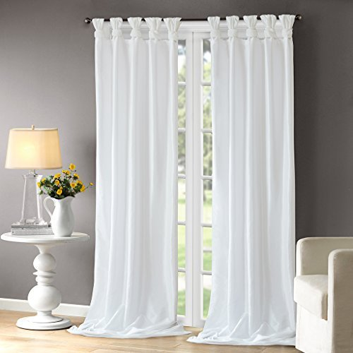 extra long white curtains - 8