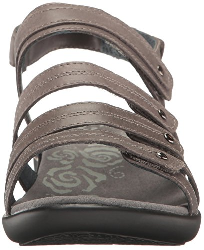 Wedge Women's Sandal Aurora Grey Propet 8Ewvw