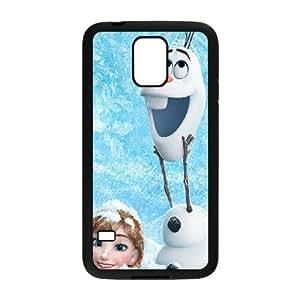 Cartoon disney frozen fever,snowman olaf, elsa and anna phone case cover For Samsung Galaxy S5 HQB479656527