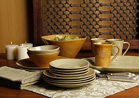 Casafina Forum Khaki Green Dinner Plate & Amazon.com | Casafina Forum Khaki Green Dinner Plate: Dinner Plates