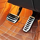 For Jaguar XE F-PACE X761 Stainless steel Brake Fuel Gas Pedal Pedales Cover Trim