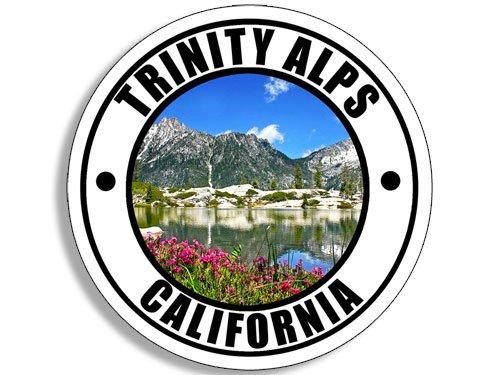(American Vinyl Round Trinity ALPS California Sticker (wa rv Travel)