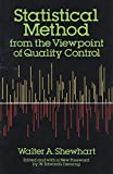 img - for Statistical Method from the Viewpoint of Quality Control (Dover Books on Mathematics) by Walter A. Shewhart (1986-06-03) book / textbook / text book