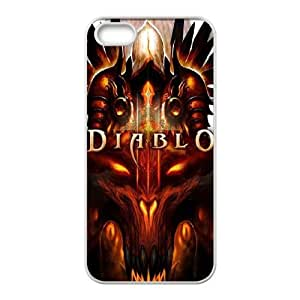 Diablo Diablo iPhone 4 4s Cell Phone Case White&Phone Accessory STC_094499