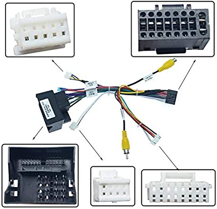 Amazon.com: FEELDO 16-pin Car Android Stereo Wiring Harness for Peugeot  3008/2008/Citroen C4/C-Quatre/C4L/C3 XR/C5/DS6: Car ElectronicsAmazon.com