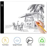 A4 Light Box, BTGGG Portable LED Tracing Light Pad Weeding Vinyl Dimmable Brightness LED Drawing Pad Table Stencil Display with USB Power Cable for Kid and Adult [Flicker-Free] [Eye Protection]