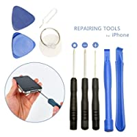 Safeseed® 9 in 1 repair tool kit for iphone 6+ 6 5S 5C 4S 4G mobile phones