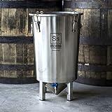 7 Gallon Stainless Steel Brew Bucket Fermenter