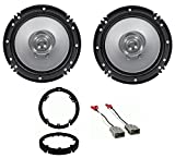 "Best Kenwood Car Door Speakers - Kenwood 600 Watt 6.5"" Front Speaker Replacement Kit Review"