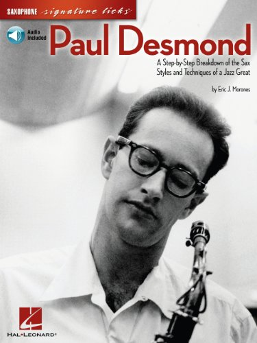 Signature Licks Video - Paul Desmond Songbook: A Step-by-Step Breakdown of the Sax Styles and Techniques of a Jazz Great (Signature Licks)