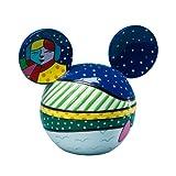 Disney by Britto from Enesco Mickey Head Covered Box - Winter Fun 4''.