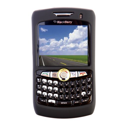 Seidio SURFACE for BlackBerry Curve 8350i - Black