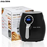 mockins Professional Extra Large 4 Liter Air Fryer With an Advanced LCD Touch Screen & Rapid Air Circulation Technology And Includes 7 Built-in Cooking Presets For All Your Cooking Needs … … For Sale