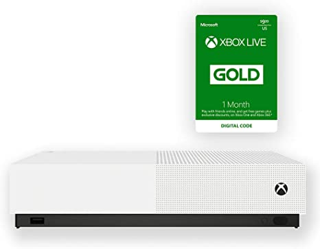 Amazon.com: Microsoft - Xbox One S 1TB All-Digital Edition ...