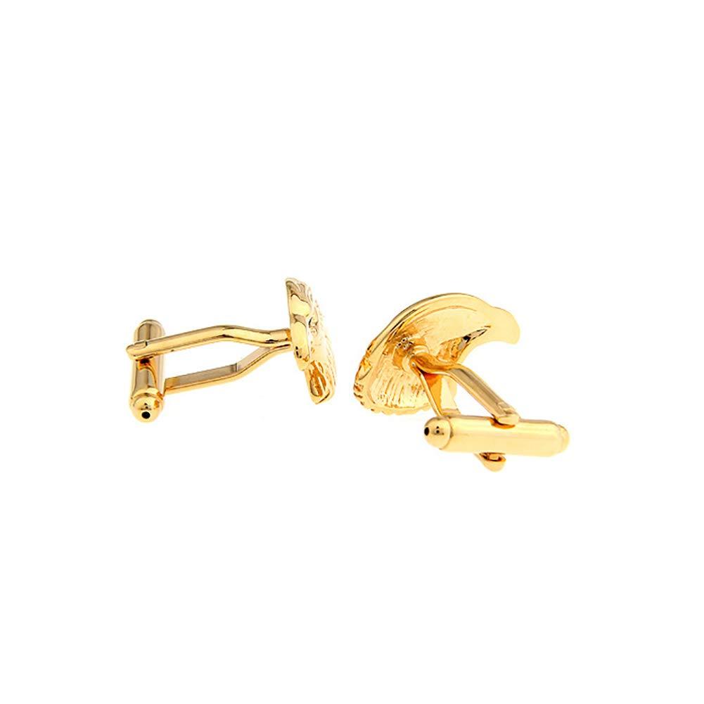 Xiton Golden Eagle Stile Camicie francesi Gemelli degli Uomini per Il Vestito Formale 1 Coppia