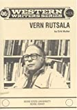 img - for Vern Rutsala (Boise State University western writers series) book / textbook / text book
