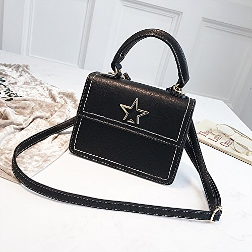 Black Lady Bag Satchel Bag Shoulder Jxnaz Bag Bag Handbag Fashion qARnfxwzH6