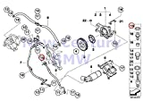 BMW Genuine Vanos Cylinder Head Mounting Parts O-Ring 18X2MM M5 M6 M6