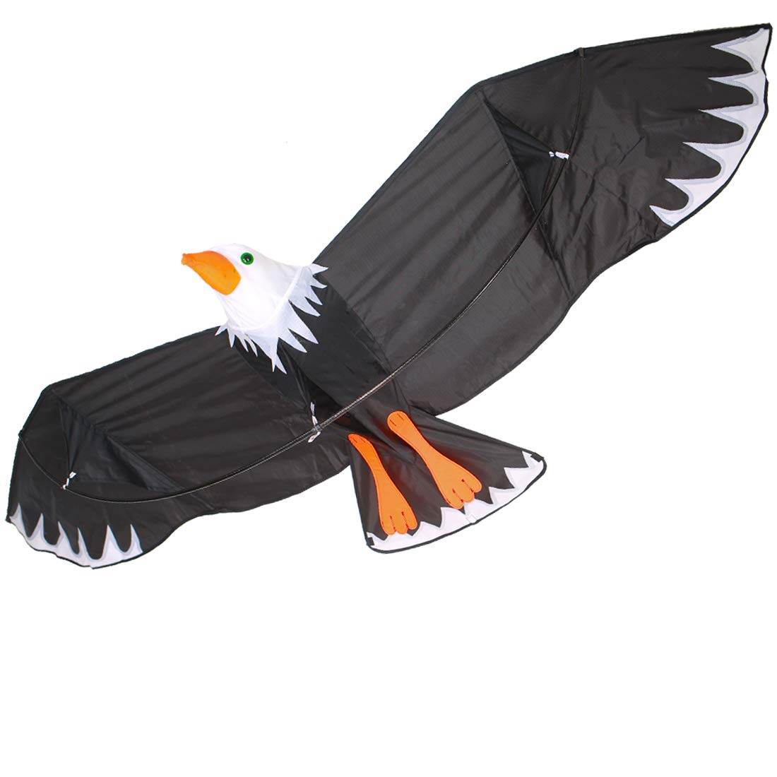 Zhuoyue Eagle Kite for Kids and Adults, Easy to Fly Bird Kite for Boys Girls for Outdoor Games Activities,Single Line Kite with Flying Tools by Zhuoyue