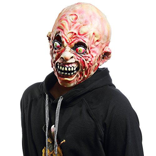 Halloween Horror Costume party Props,The Walking Dead Masks(Carrion (The Walking Dead Zombie Adult Costumes)
