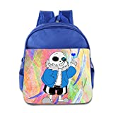 Undertale Viideo Game On Days Like These Children School Bags RoyalBlue