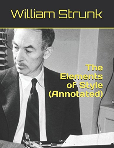 Read Online The Elements of Style (Annotated) pdf epub