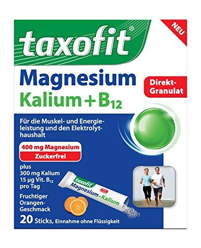 Taxofit Magnesium+Kalium Direkt 20Sticks
